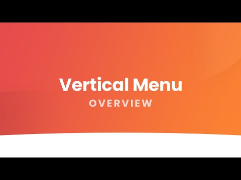 Vertical Menu: All-in-one Navigation For Joomla! - Overview