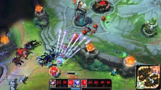 Ashe Quadra Kill + Nice Team Fight