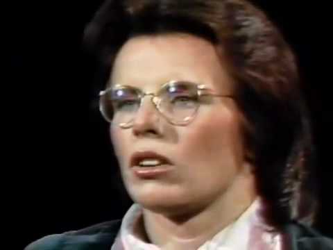 Day at Night: Billie Jean King, tennis champion