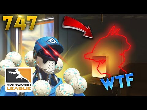 WALLHACKS IN OWL..?! | Overwatch Daily Moments Ep.747 (Funny and Random Moments)