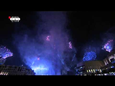 [HD] DUBAI - MÀN PHÁO HOA HOÀNH TRÁNG MỪNG NĂM MỚI 2013 | NEW YEAR