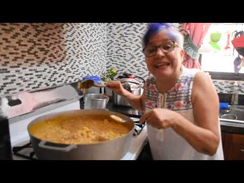 Un asopao de gallinita criolla