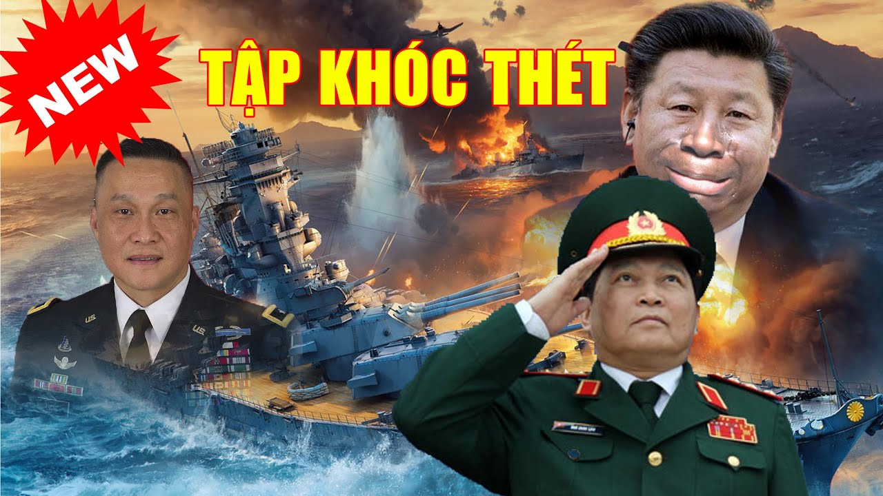 🔴TRỰC TIẾP! MỸ ĐIỀU 2 TÀU USS hỗ trợ Việt Nam nổ toang TQ ở Hoàng Sa. Tập nhận tin SÉT ĐÁNH