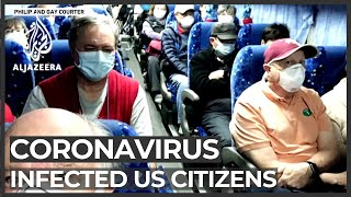 Coronavirus: Infected US citizens repatriated from Japan