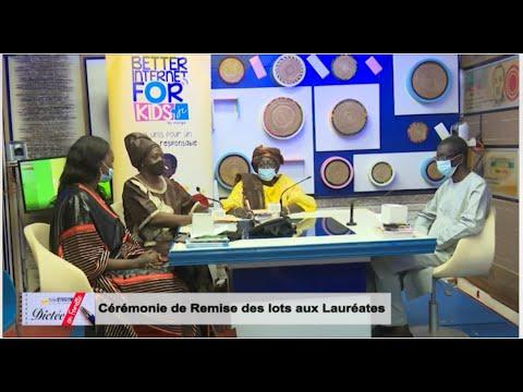 TELE ECOLE : Dictée en Famille Cérémonie de remise des lots