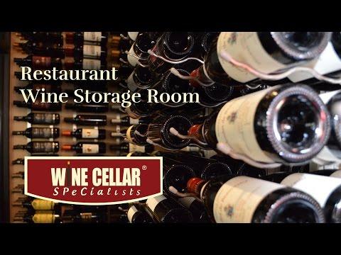 Dallas Texas Walk-in **Wine Storage Room** in COMMERCIAL** Restaurant & Dallas Texas Walk-in **Wine Storage Room** in COMMERCIAL** Restaurant
