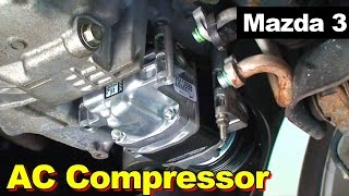 2004-2009 Mazda 3 AC Compressor Non-Turbo