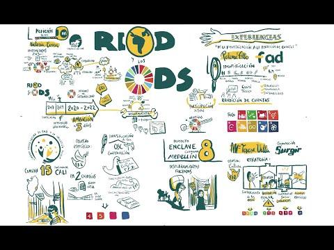 XXII Seminario de la RIOD: Visual Thinking de las ponencias sobre ODS, Agenda 2030 y drogas
