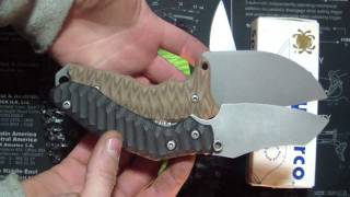 Tuffknives D2 Fixed blade Proto+Pavlov prize and Pimpage