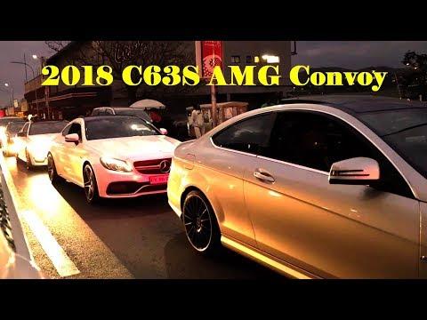 2018 C63S AMG Convoy Loud Exhausts Kwesta ft Wale Spirit