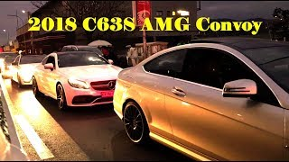 2018 C63S AMG Convoy Loud Exhausts Kwesta ft Wale Spirit