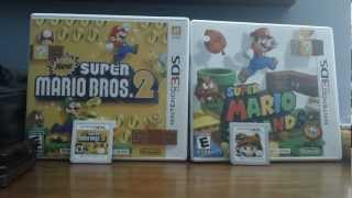 New Super Mario Bros. 2 Vs. Super Mario 3D Land