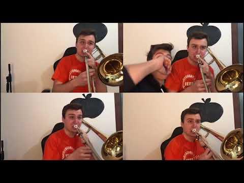 Tetris Theme - Trombone quartet