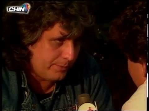 CHIN Picnic 1984 Pino Daniele Interview by Franco Valli