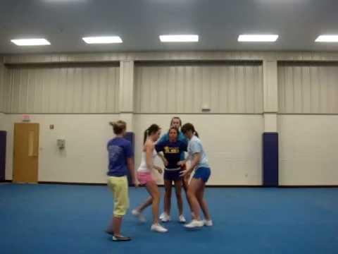 EHS Cheer Stunt Group