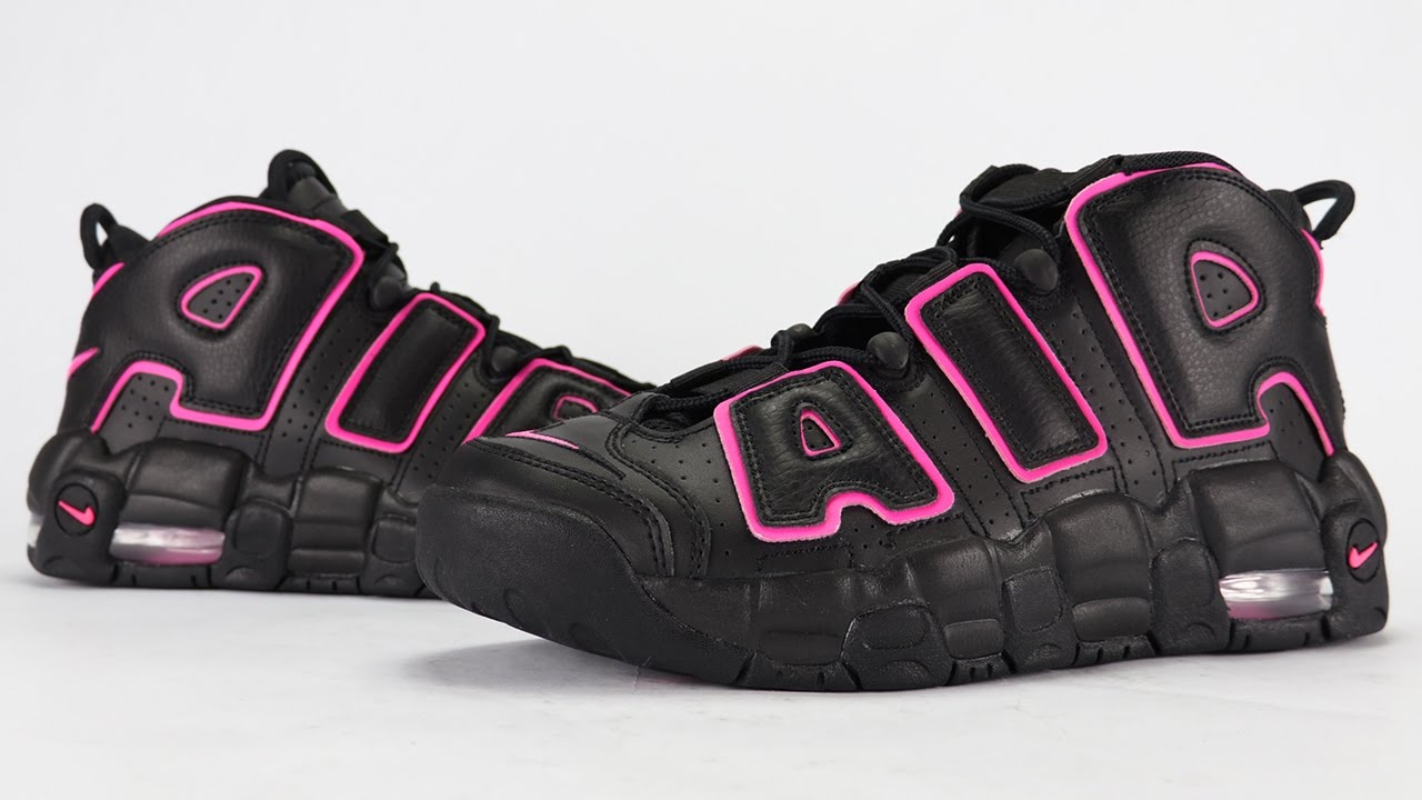 more photos aa316 bb210 Nike Air More Uptempo Hyper Pink Review - YouTube