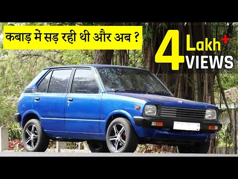 SCRAP to NEW!! Maruti Suzuki Restoration | Race Seats | Custom Exhaust | Old Car Restoration india