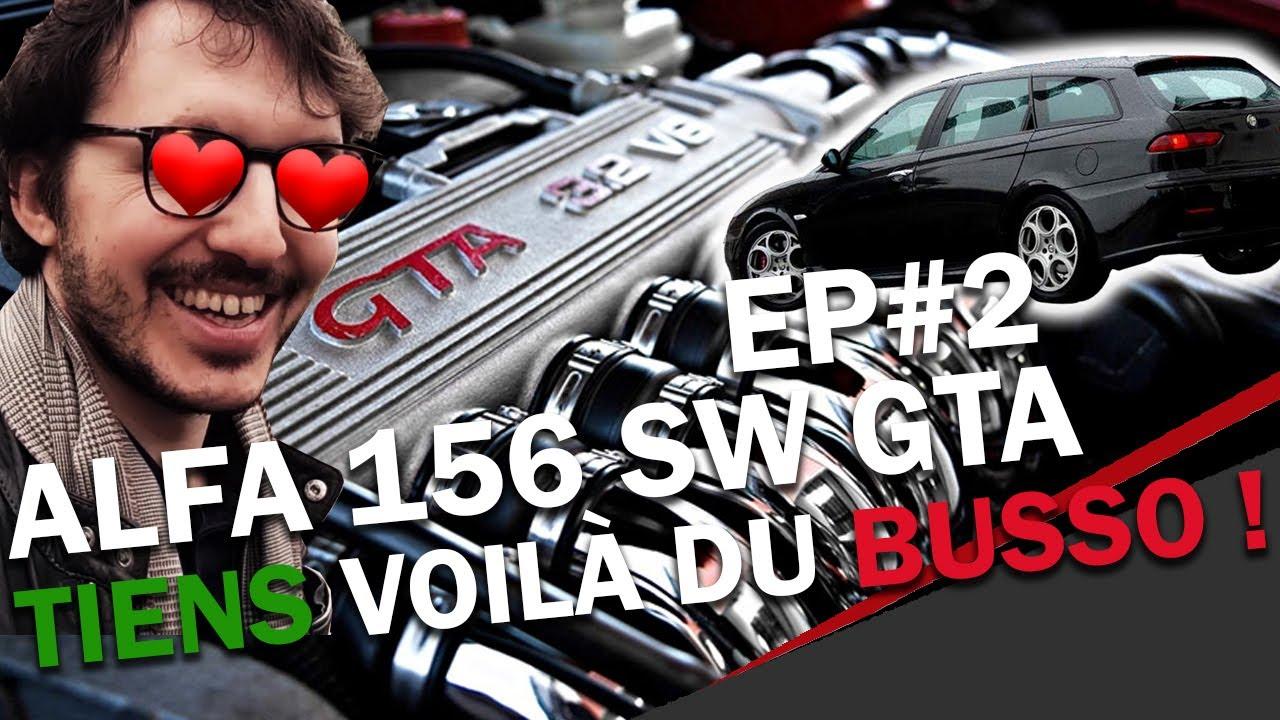 Alfa Romeo 156 GTA Sportwagon: Tiens Voilà Du Busso