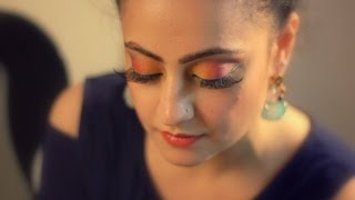 Colorful & glamourous eye makeup for Indian eyes Thumbnail