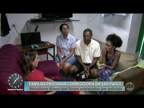 Família humilhada por policiais civis vai levar o caso à Justiça   Primeiro Impacto (03/04/18)