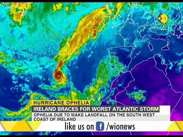 Ireland braces for worst Atlantic storm Ophelia