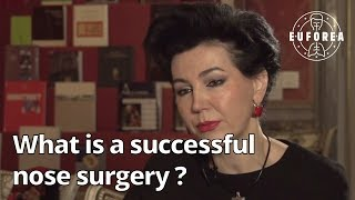 What determines the success of a nose surgery ? (Q&A for patients)
