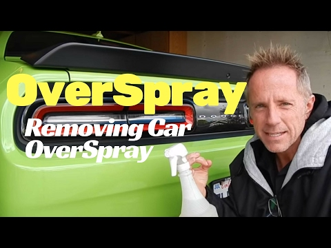 Overspray Removal: 2015 Dodge Challenger SRT Hellcat