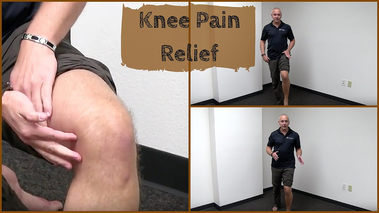 Knee Pain Reduction and Relief Exercise