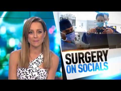 'Social Media Surgery' - Dr Dona's use of Social Media on The Project (Network Ten)