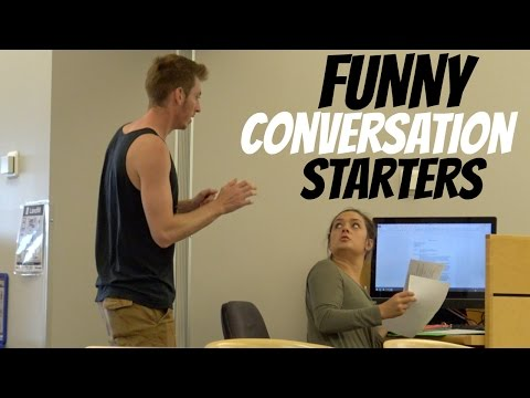Cool conversation starters with a girl