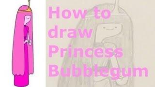 Ep. 11  How to draw Princess Bubblegum made easy