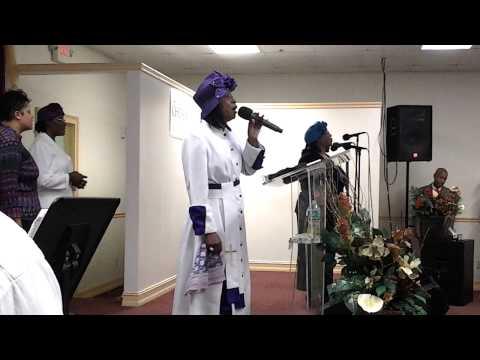 Evangelist Joan Garrick At Pentecostal Tabernacle WPB Women's Conference 2014 Pt1
