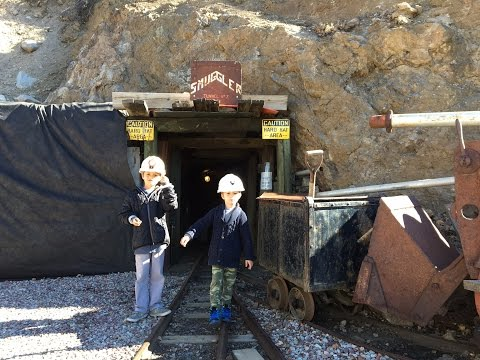 The 2 Silver Bros. Smuggler Mine Tour Aspen Colorado. Real Life Minecraft!