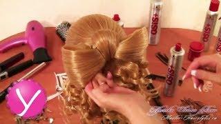 Прическа Мальвина с бантом из волос и локонами(Прическа Мальвина с бантом из волос и локонами ▻ http://womanuroki.ru/pleteniekos - жмите по ссылке, чтобы получить все..., 2013-05-19T15:33:19.000Z)