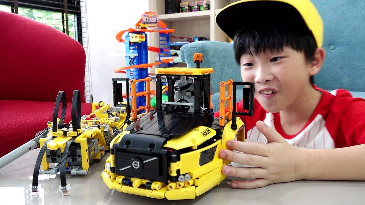예준이의 레고 테크닉 블럭 장난감 조립놀이 자동차 장난감 트럭놀이 Lego Technic Truck Toy Assembly