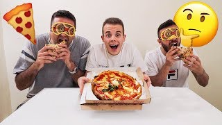 🍕 INDOVINA LA PIZZA da BENDATO CHALLENGE! Fius Gamer vs Tatino