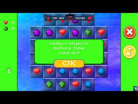 Jewel Puzzle Click  - Quick Gameplay |