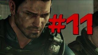 Resident Evil 6 - Walkthrough - Chris Part 11 - SNAKE!? SNAAAAAAKE! (PS3/X360) [HD] (Gameplay)