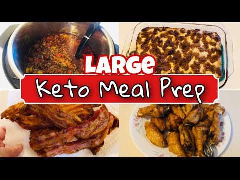 large-keto-meal-prep-/-batch-cooking-|-easy-breakfast,-lunch,-dinner-recipes-|-7/9/20