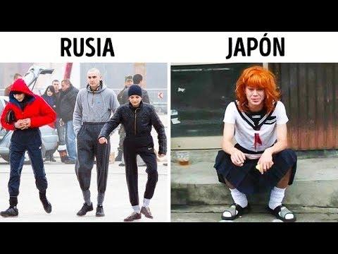 Así se ven las pandillas de todo el mundo