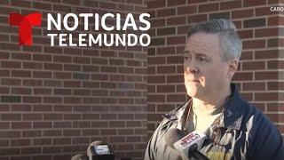 EN VIVO: Rueda de prensa sobre el cadáver hallado en Carolina del Norte