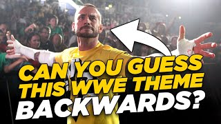 Hardest WWE Entrance Themes In REVERSE Quiz! - Vol. 2