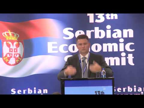 Keynote Speech Frederic Coin - 13th Economic Summit of the Republic of Serbia