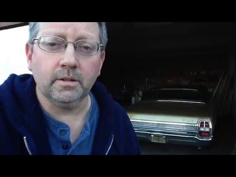 1968 Ford Galaxie, 1 Month Storage Start-- San Leandro, CA-- Dec 29 2013