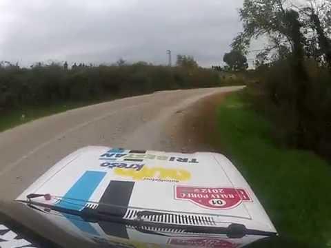 Juraj Šebalj - Rally Poreč 2012 - Ford Escort MK1