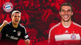 Lukas podolski scored 26 goals for fc bayern. on the occasion of match against 1. cologne, we look back his best and funniest moments. enjoy!...