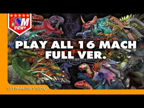 Dinosaurs Battle 16 Match Full ver.