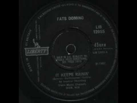 fats domino   it keeps raining