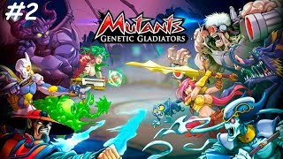 Мутанты Генетические войны вернулись! Мутанты на Фейсбуке Mutants Genetic Gladiators #2