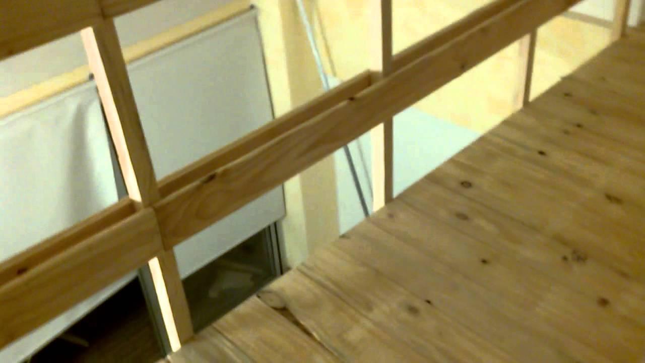 Entrepiso de madera 1552500758 172 6551 youtube for Escalera de madera para entrepiso